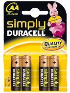 Duracell AA Battery 4PK