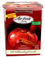 AirFresh Apple Cinna Candle85g