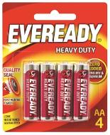 Eveready HD AA 4PK