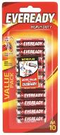 Eveready HD AA 10pk